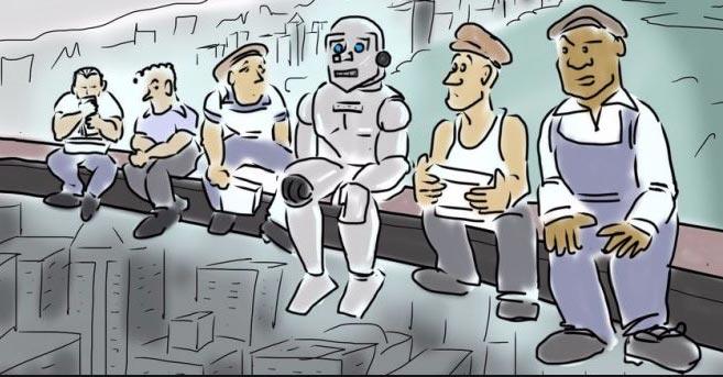 Блокчейн и роботизация могут исключить из экономики половину россиян